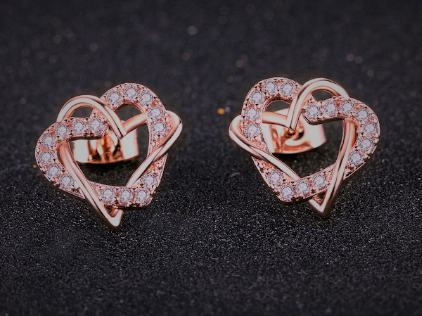 """Callie"" Cubic Zirconia Earrings"