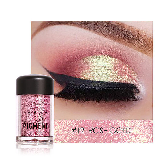 Shimmer Eye Pigment Powders - Rose Gold