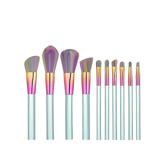 Rainbow Bristle Makeup Brush