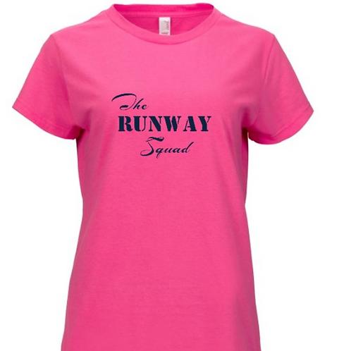 """The Runway Squad"" Womens T-Shirts"