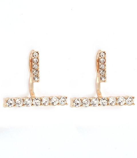 """""""Maribel"""" Crystal Earrings"""