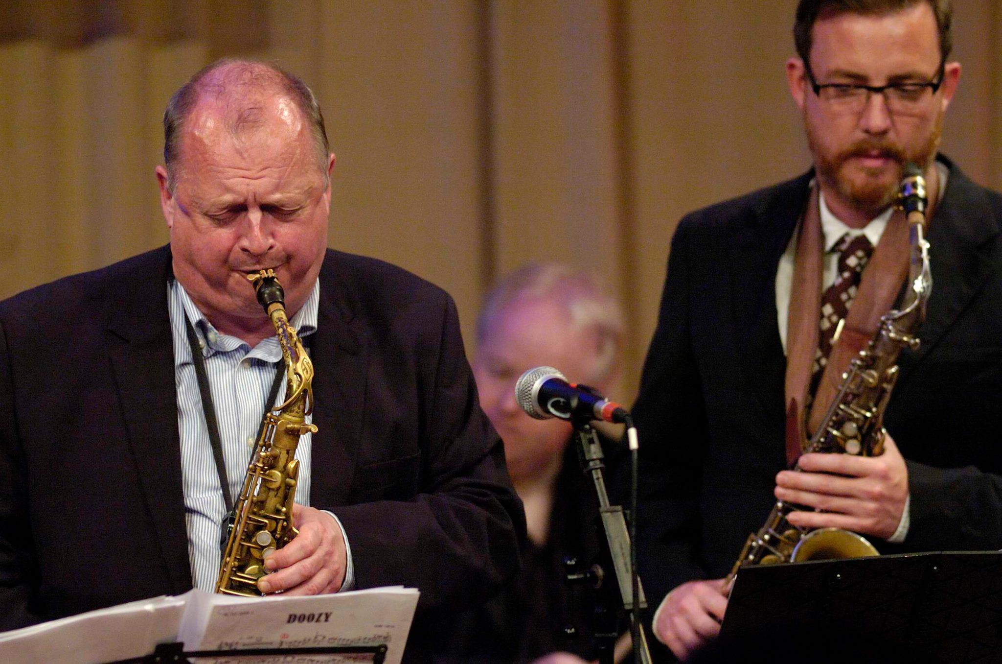 Dave O'Higgins - Alan Barnes Sax Sec