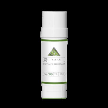 CLEAN - Enzymatic Deodorant
