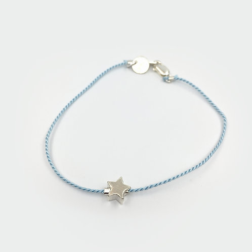 Wish Bracelet (Silver Star)