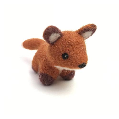Needle Felted Little Fox