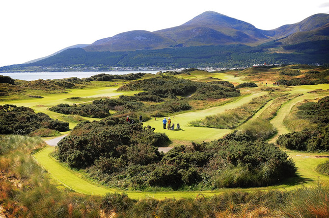 Painting a Picture at Royal County Down