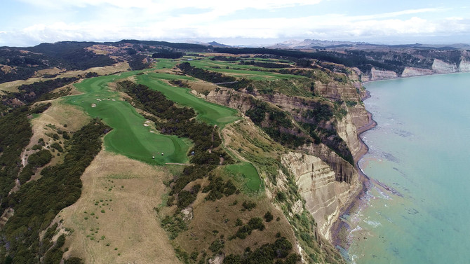 Droning Cape Kidnappers