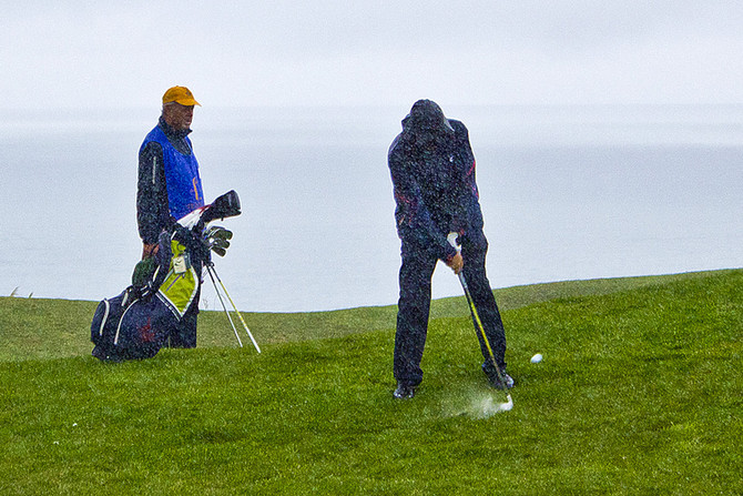 To Find a Man's True Character, Play Golf With Him... in the Rain.
