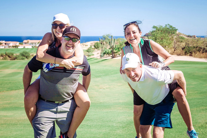 A Double Date at Palmilla