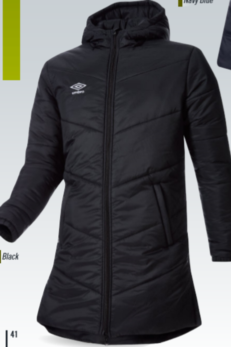 Men's Long Padded Jacket