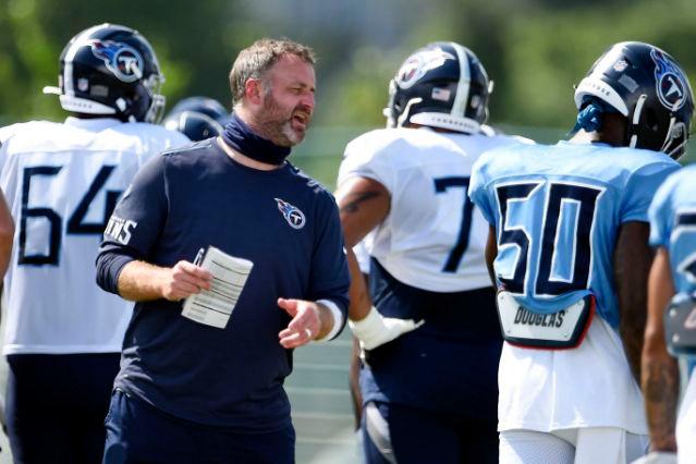 Titans' Coach Shane Bowen