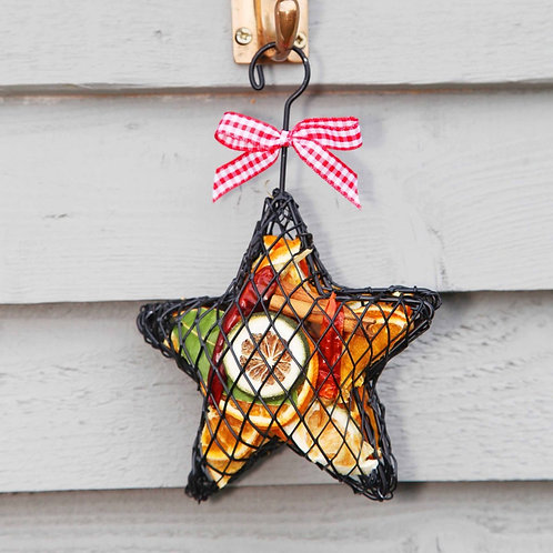 Fruit Hanging Star Cage