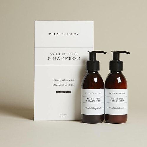 DUO GIFT SET WILD FIG & SAFFRON WASH AND LOTION