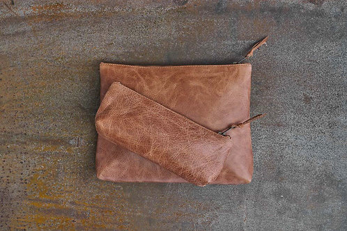NAMBA LEATHER TRAVEL POUCH