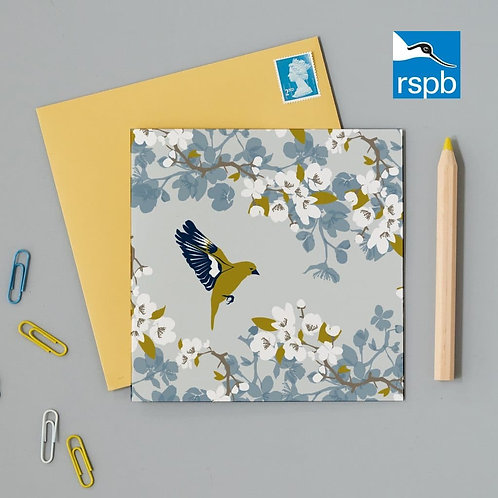 RSPB Greenfinch Card