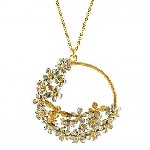 Posy Bloom Loop Necklace