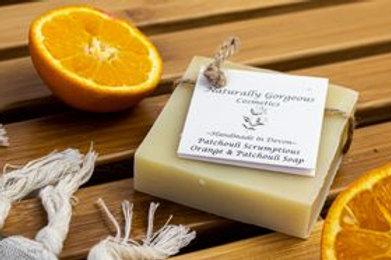 SOAP - PATCHOULI SCRUMPTIOUS (SWEET ORANGE AND PATCHOULI) 100G
