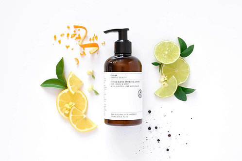 CITRUS BLEND AROMATIC HAND & BODY LOTION ORGANIC