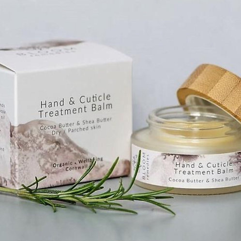 HAND & CUTICLE TREATMENT BALM - WITH MACADAMIA AND MARJORAM