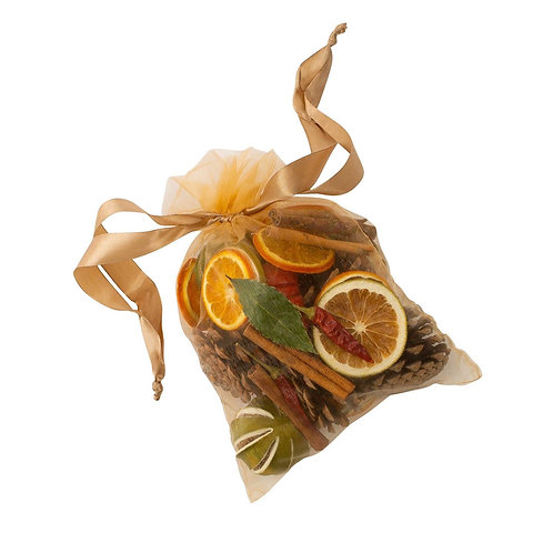Gold Festive Spice Pot Pourri