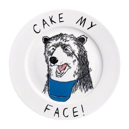 'Cake my Face' Side Plate