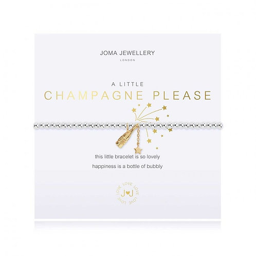 A LITTLE CHAMPAGNE PLEASE BRACELET