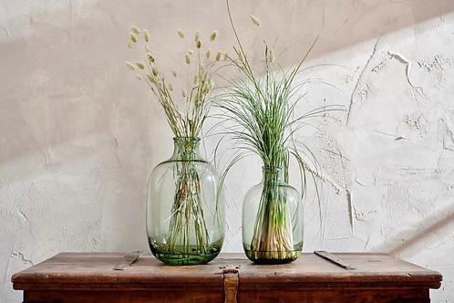 Lua Glass Vase - Green