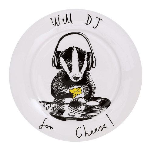 'DJ Badger' Side Plate