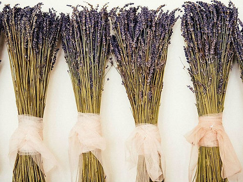 Dried lavender bunches-made in Yorkshire