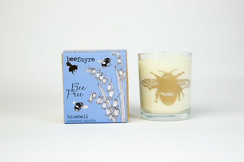 Bee Free Bluebell Large Candle