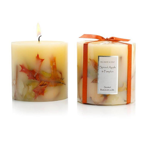 SPICED APPLE AND PUMPKIN BOTANICAL CANDLE