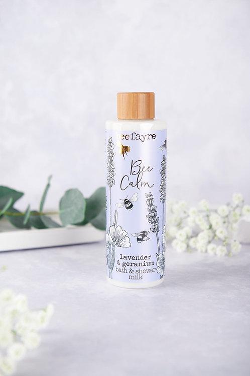 Bee Calm Lavender & Geranium Bath & Shower Milk