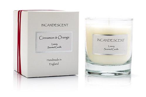 Cinnamon and orange signature candle medium