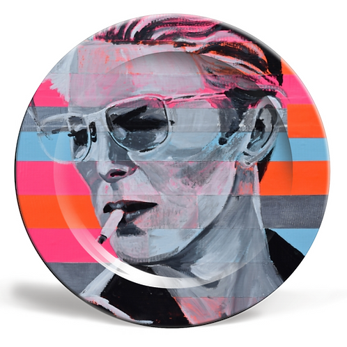 PLATES, NEON BOWIE