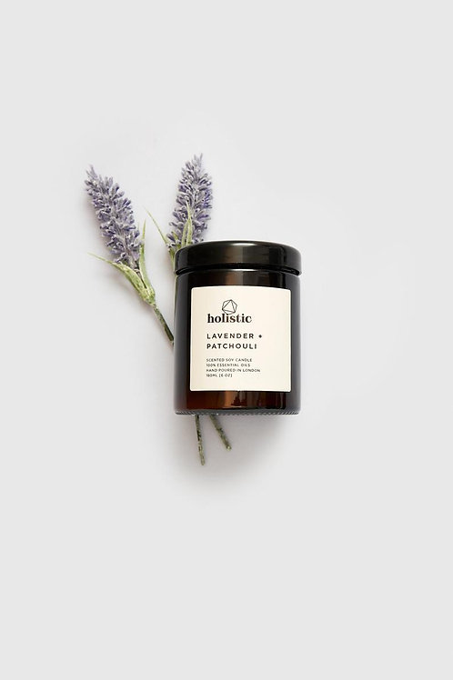 LAVENDER PATCHOULI SCENTED SOY CANDLE