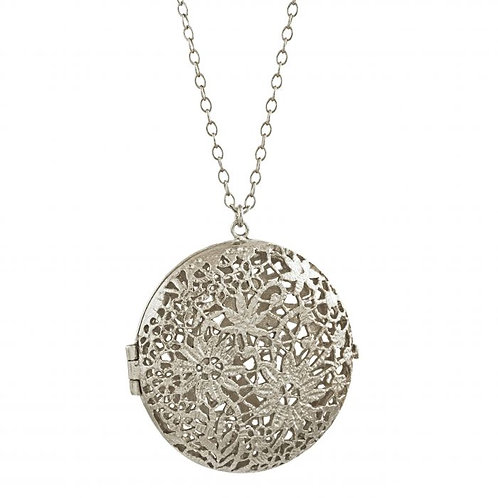 Large Chantilly Lace Locket