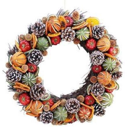 Noel' Wreath medium 35cm