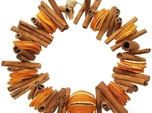 Cinnamon and Orange Circle