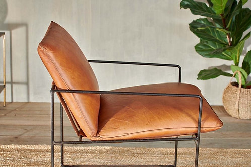 Durium Leather Lounger - Aged Tan *26 January dispatch
