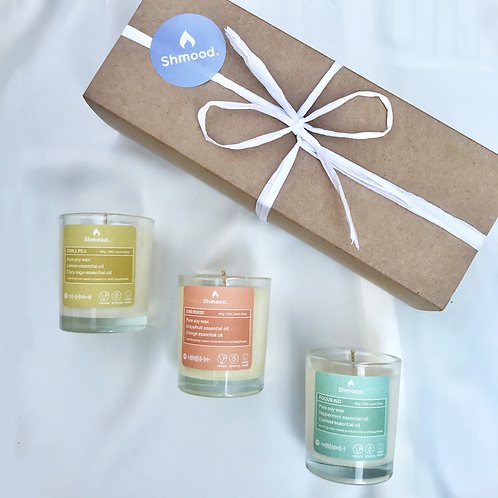 Gift Set Trio | Core Collection (3 x 80g) CANDLES