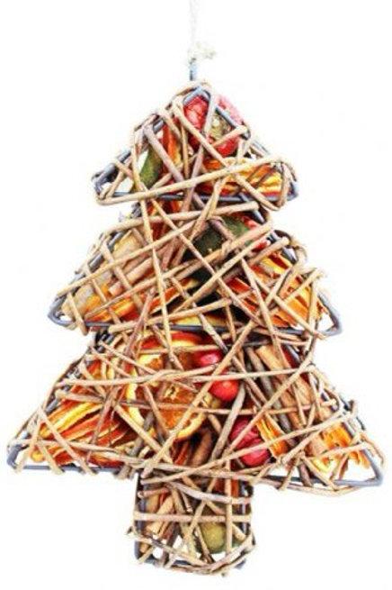 Fruit Wicker Cage: Tree