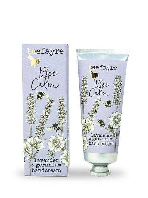 Bee Calm Lavender & Geranium 60ml hand cream