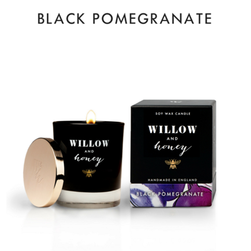 220G BLACK POMEGRANATE CANDLE
