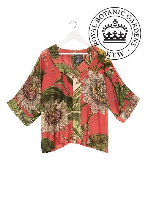 ONE HUNDRED STARS & KEW PASSION FLOWER TOP CORAL
