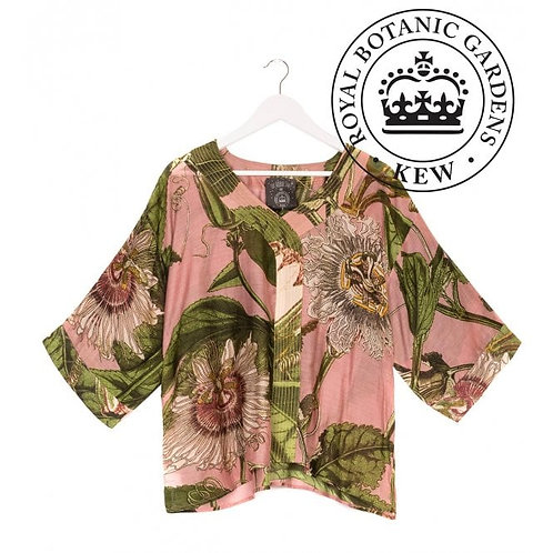 ONE HUNDRED STARS Kew Passion Flower Pink Top