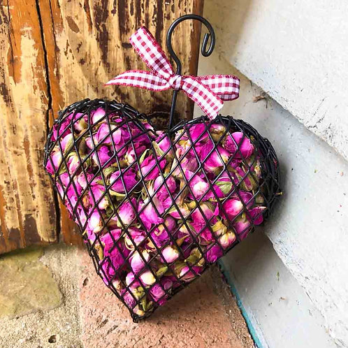 Rose Heart Cage