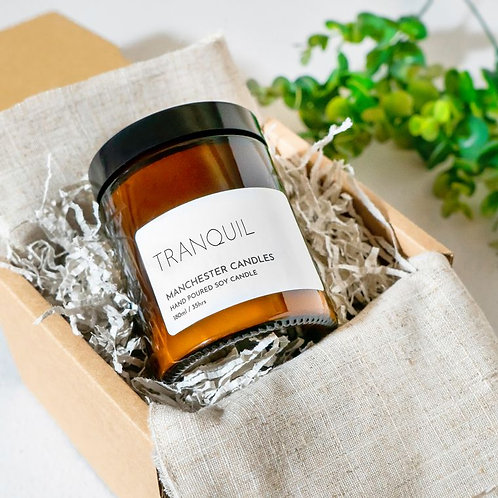 Tranquil - Rose & Patchouli Candle