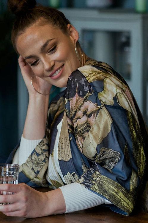 Iris Blue Kimono