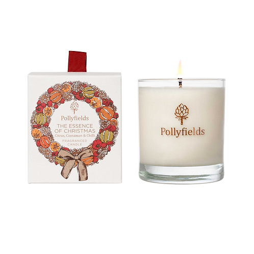 Essence of Christmas Fragranced Candle