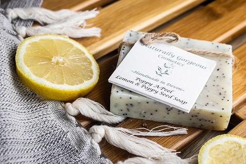 Soap - poppy a-peel (lemon and poppyseed) 100g